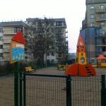 Plac zabaw dla dzieci przy ul. Chrzanowskiego
