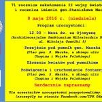 71 rocznica zakończenia wojny i rocznica imienin gen. Stanisława Maczka