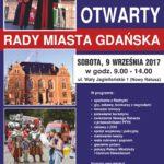 9 września – Dzień Otwarty Rady Miasta Gdańska