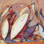 Wystawa prac malarskich – MAREK WRÓBEL