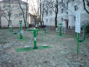 Siłownia przy ul. Michała Glinki