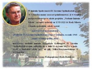 IX LO w Gdańsku im. Krzysztofa Kolbergera