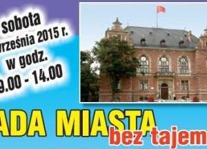 Rada Miasta – Dzień otwarty 12.09.2015 od 9:00 do 14:00