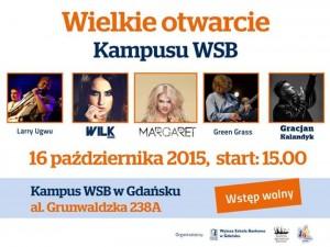 Otwarcie kampusu WSB