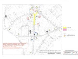 Zmiana organizacji ruchu w rejonie ulicy HUBALA