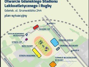 Nowy stadion do rugby i lekkoatletyki – otwarcie 22.10.2016 od 10:00