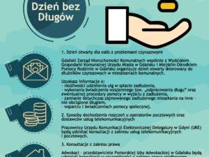 Drugi Gdański Dzień bez Długów – 17 listopada 2016 r.