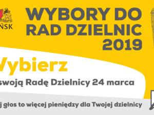 Wybory do Rad Dzielnic Gdańska – obwieszczenie