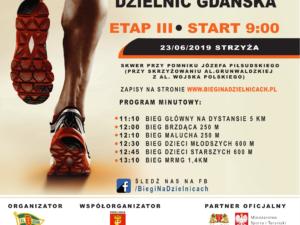 Biegowe Grand Prix Dzielnic Gdańska w dzielnicy Strzyża