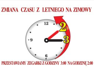 Uwaga, zmiana czasu!